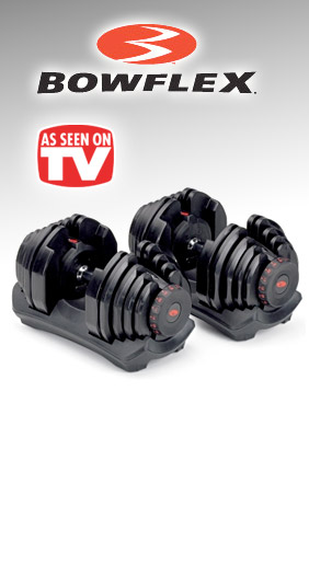 Bowflex SelectTech As Seen on TV