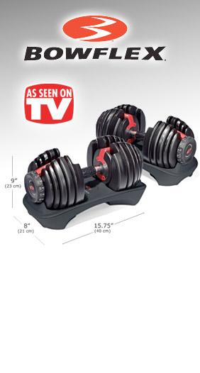Bowflex SelectTech As Seen on TV