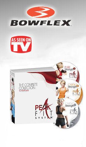 Bowflex Peak Fit System As Seen on TV