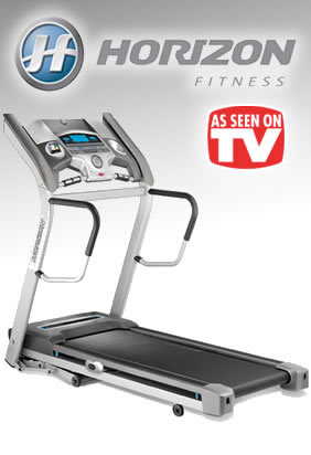 Horizon Fitness Treadmills - As Seen on TV