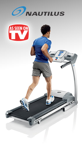Nautilus Treadmills As Seen on TV
