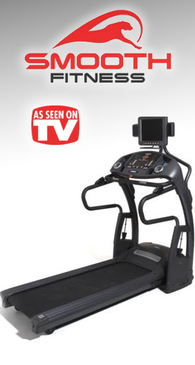 Smooth Fitness 9.45TV Treadmill