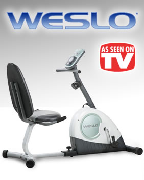 Weslo Exercise Bikes - As Seen on TV