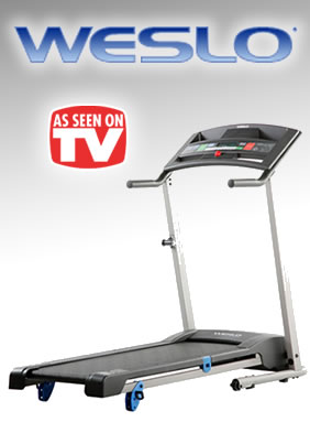Weslo Treadmills - As Seen on TV